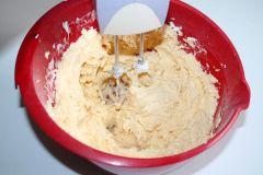 Sladký koláč s jahodami - príprava 3