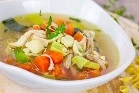 Kartoffel-Gemüse-Suppe mit Zartweizen