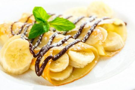 Bananen-Palatschinken
