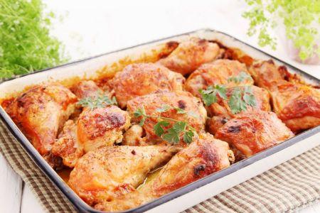 Knusprige Ofen-Hühnerschenkel