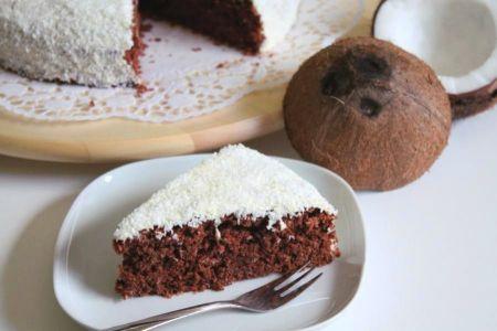 Schoko-Cocos-Kuchen
