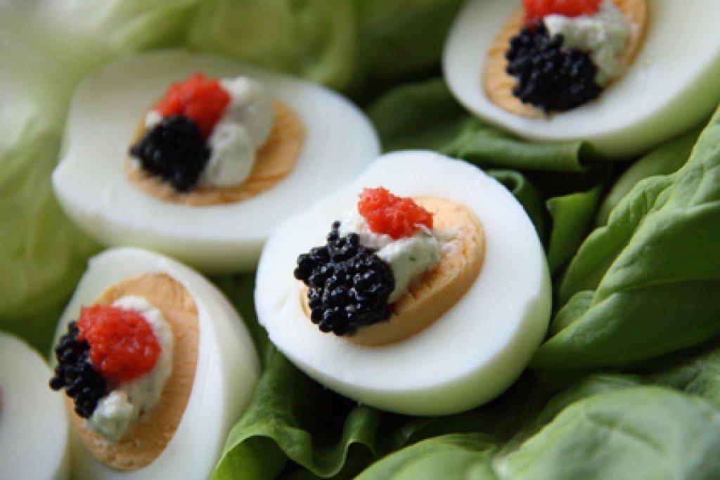 Für gefüllte buffet eier kaltes Russische Eier