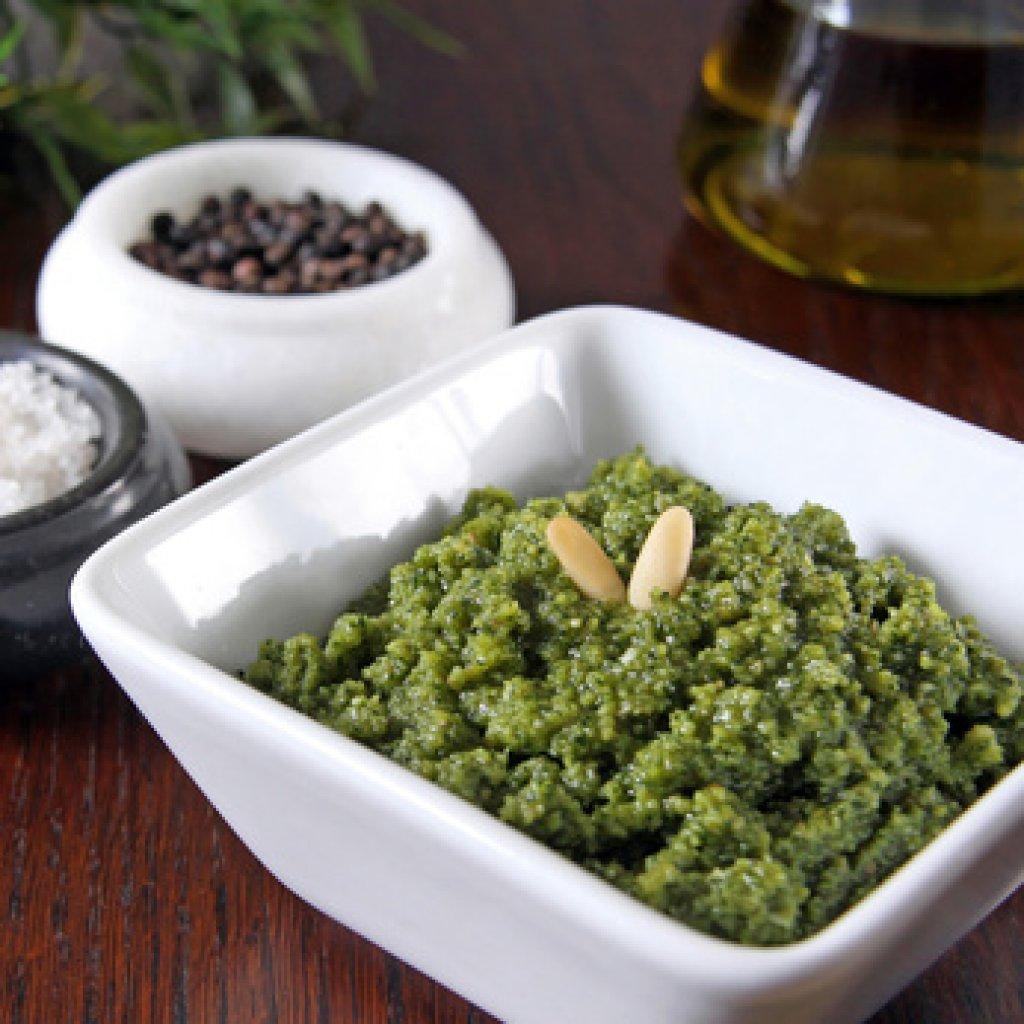 Schnelles b rlauchpesto rezept for Schnelle nudelgerichte