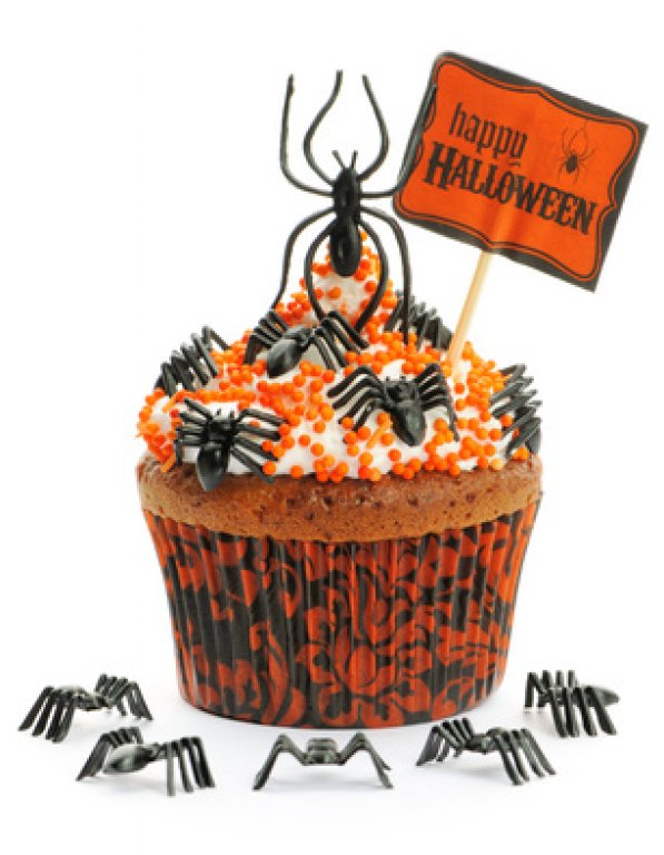 halloween maden muffins rezept. Black Bedroom Furniture Sets. Home Design Ideas