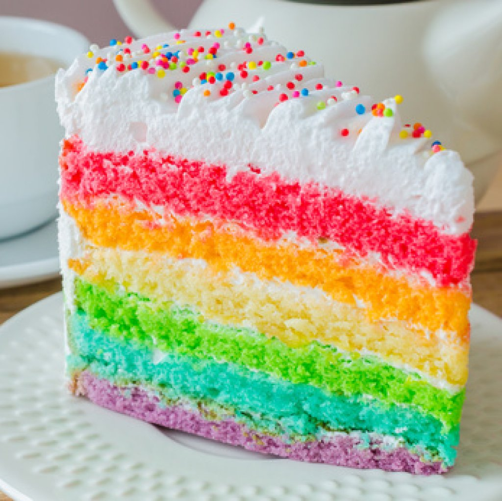 How To Make A Multi Layered Rainbow Cake