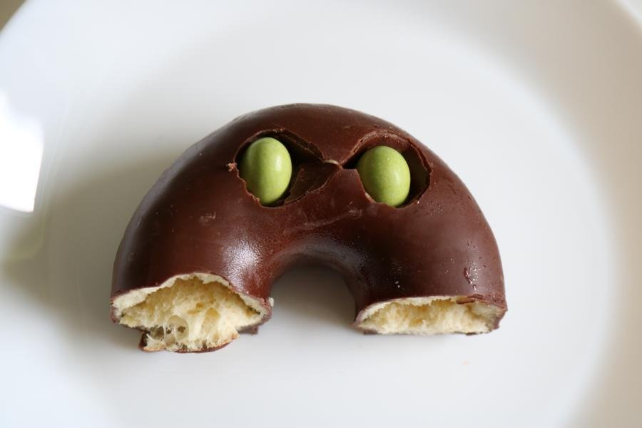 Donut Raupe