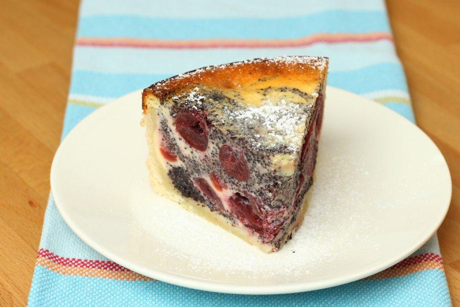 Kirsch Mohn Kuchen Rezept Kochrezepte At