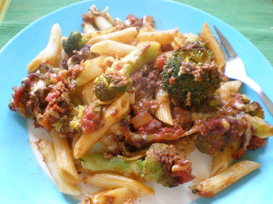 Nudelauflauf mit faschiertem und brokkoli rezept for Koch gerichte