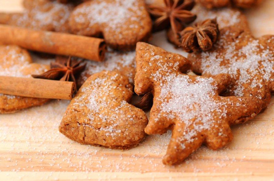 Weihnachtsplätzchen Rezept Zum Ausstechen.Einfache Zimtkekse Zum Ausstechen