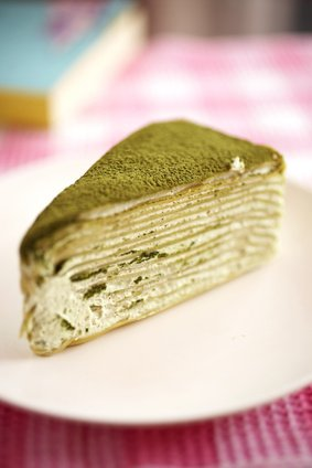 Gruner Tee Mille Crepe Kuchen Rezept Kochrezepte At