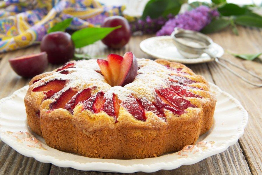 Pflaumen nektarinen kuchen