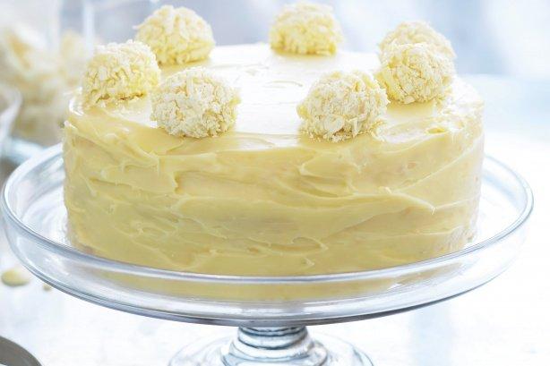 Coconut And White Chocolate Cake Uk