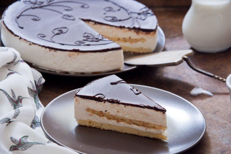 Vogelmilchtorte Milkcake Rezept Kochrezepte At