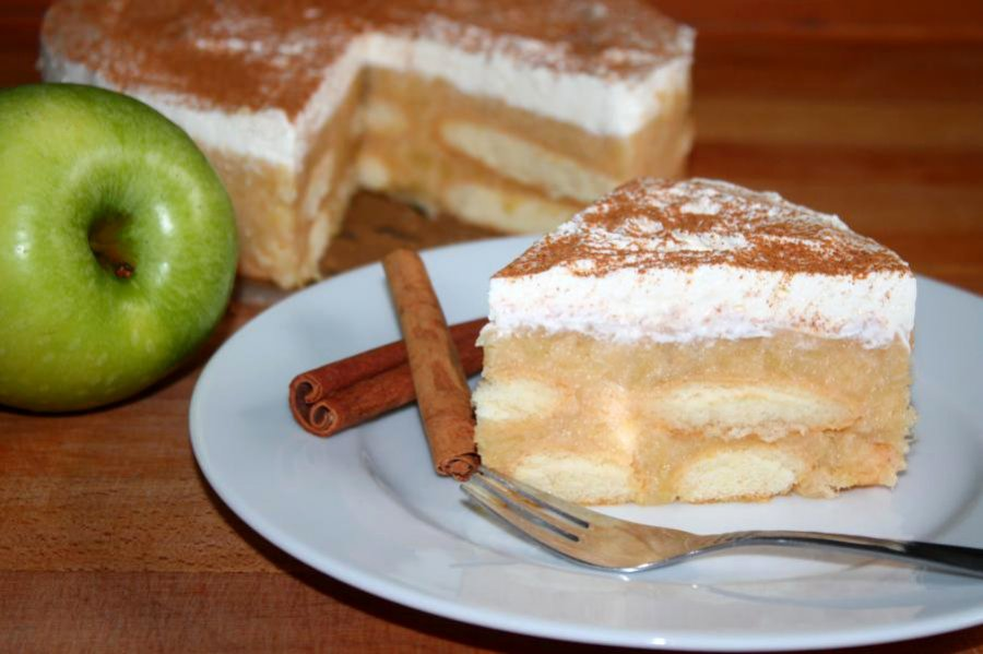 Kleine Apfeltorte Ohne Backen Rezept Kochrezepte At