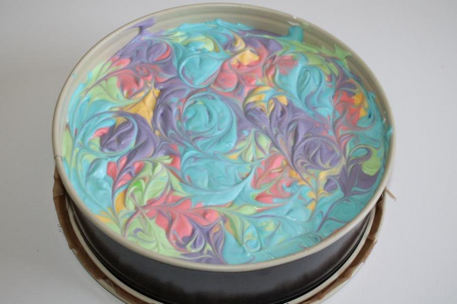 Bunte Käse Sahne Torte Rezept